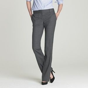J Crew Sz 2 Gray City Fit Super 120s pants